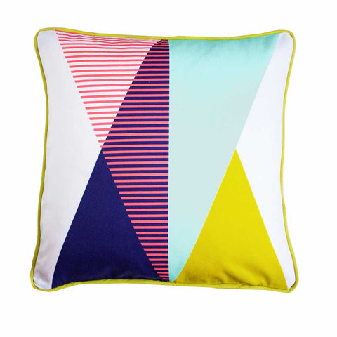 GEOMETRIC CUSHION - ASCENT | Sparrow and Wolf | Blog And Buy Sale Shop