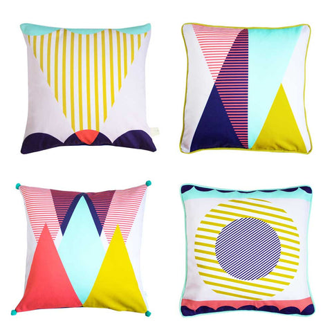 GEOMETRIC CUSHION - COMPLETE SET