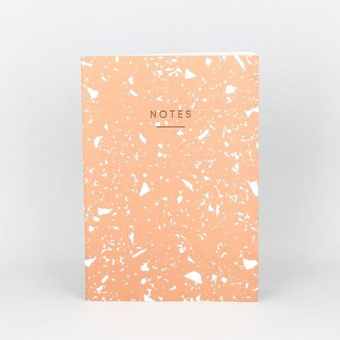 MEDIUM FRAGMENT NOTEBOOK - CORAL | Wrap magazine | BlogAndBuySale Shop