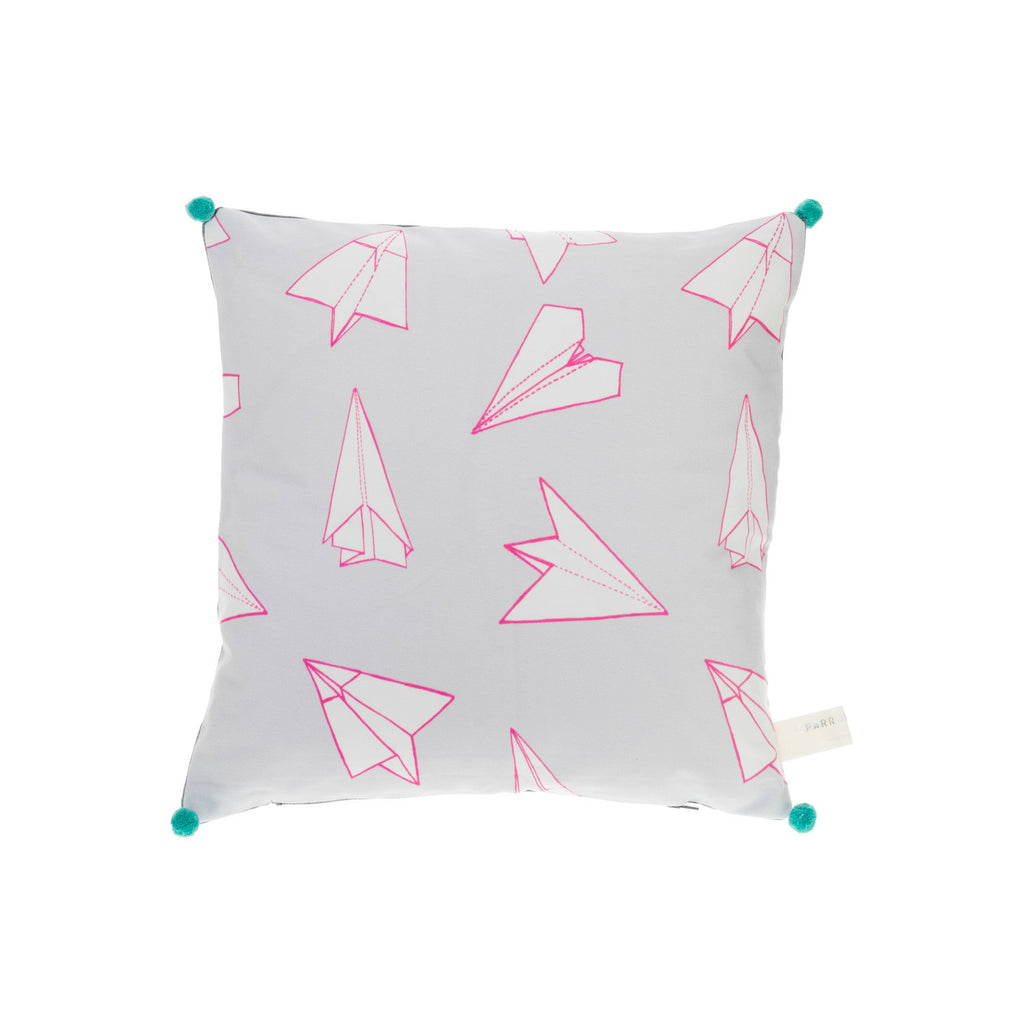 POM POM PLANES CUSHION | Blog And Buy Sale Shop | Sparrow + Wolf