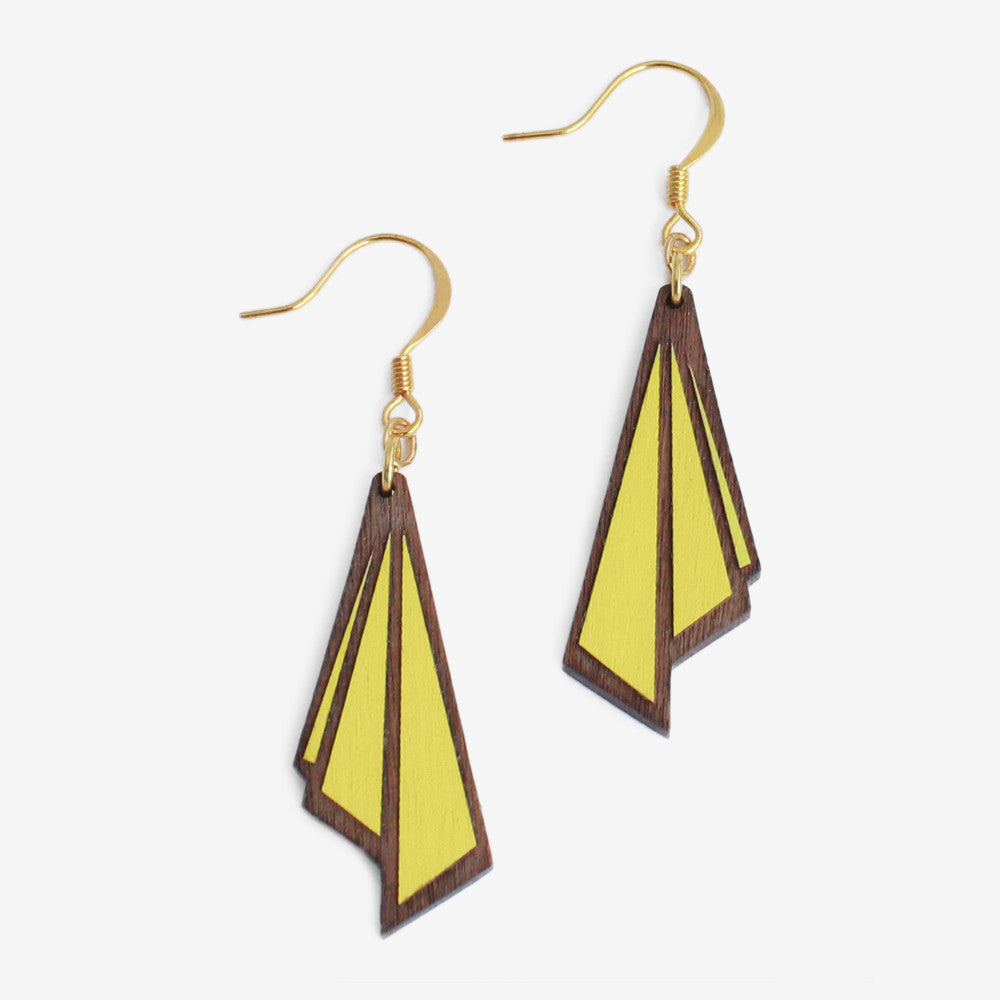 LEMON HUÎTRE DROP EARRINGS - Blog And Buy Sale Shop