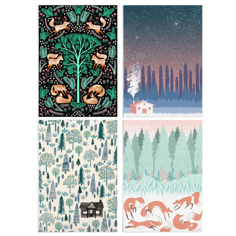 WOODLAND POSTCARDS SET | Papio Press | Blog And Buy Sale Shop