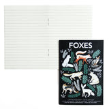 NATURAL HISTORY FOXES A6 POCKET NOTEBOOK | Papio press