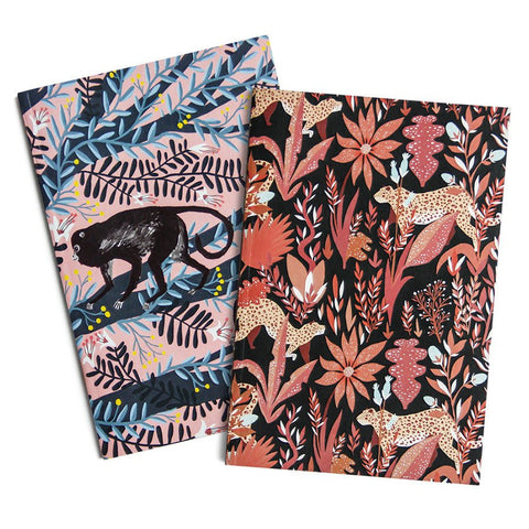 JAGUARS & MONKEYS A6 POCKET NOTEBOOKS