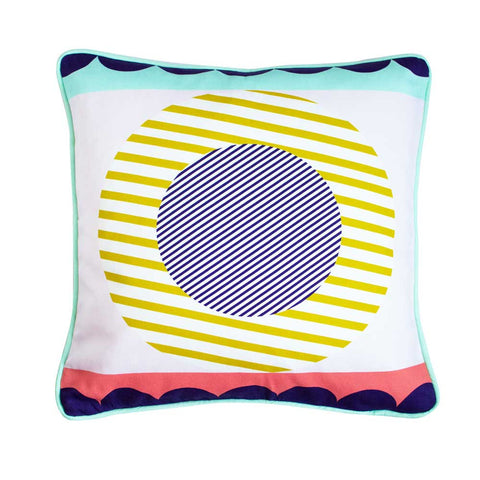 GEOMETRIC CUSHION - SUN