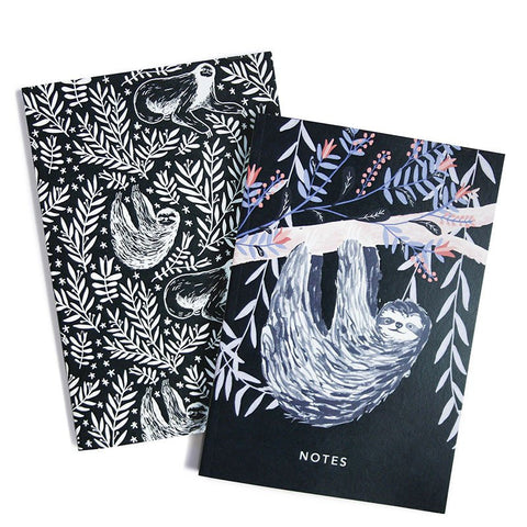SLOTHS A6 POCKET NOTEBOOKS