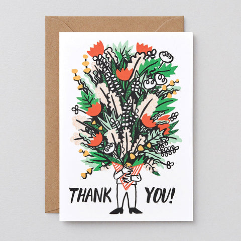 BUNCH OF FLOWERS GREETINGS CARD | Wrap Magazine | Blog And Buy Sale Shop