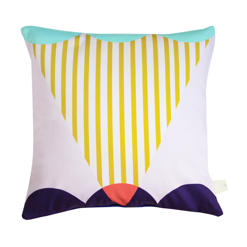 GEOMETRIC CUSHION - VALLEY | Blog And Buy Sale Shop | Handmade cushion