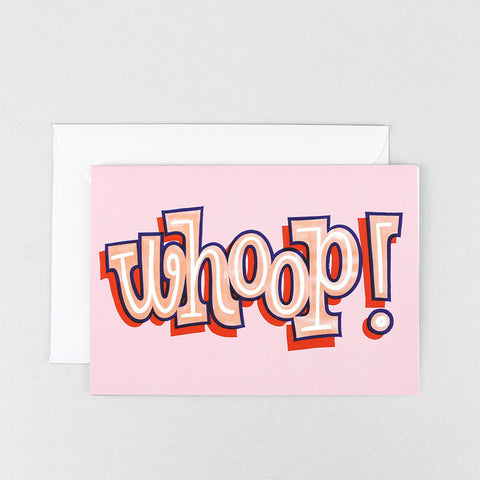 WHOOP GREETINGS CARD | Wrap Magazine | Blog And Buy Sale Shop