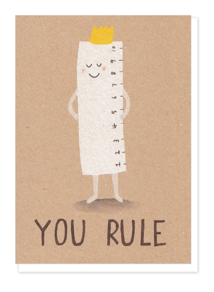 YOU RULE GREETINGS CARD - Stormy Knight - Blog And Buy Sale Shop