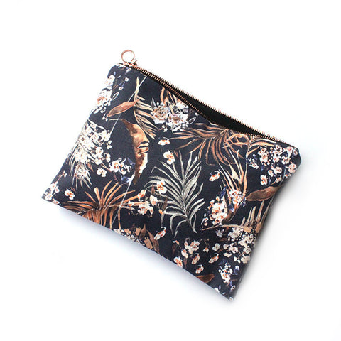 ORIENTAL PALMS FABRIC TRAVEL BAG | Nikki Strange | Blog And Buy Sale Shop