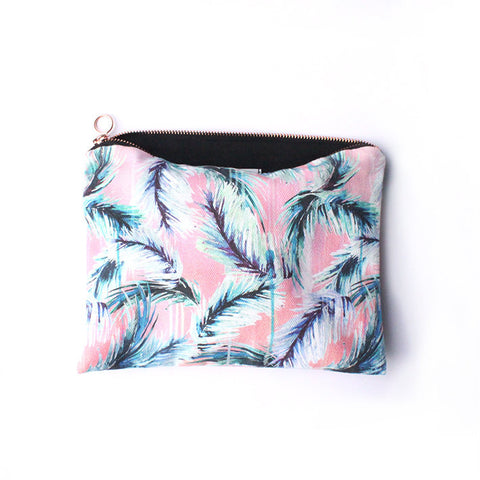 PINK TROPICANA FABRIC TRAVEL BAG | Nikki Strange | Blog And Buy Sale Shop