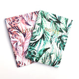 PARADISE PALMS A6 NOTEBOOK SET | Nikki Strange | BlogAndBuySale Shop