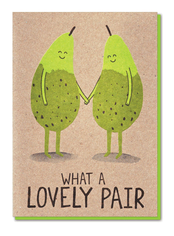 WHAT A LOVELY PAIR GREETINGS CARD - Stormy Knight - Blog And Buy Sale Shop