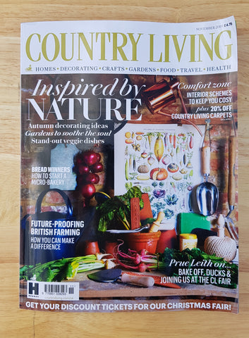 Country Living magazine November 2019 edition