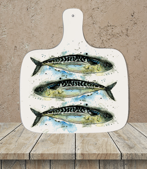 Mackerel Chopping Board