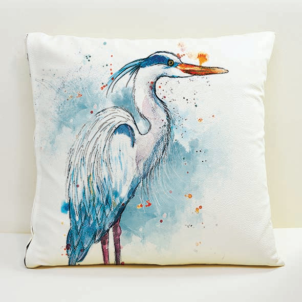 Heron Cushion Cover