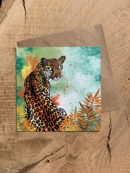 Pack of 5 Greeting Cards - Tropical