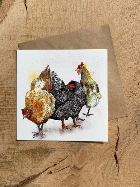 Pack of 5 Greeting Cards - Country