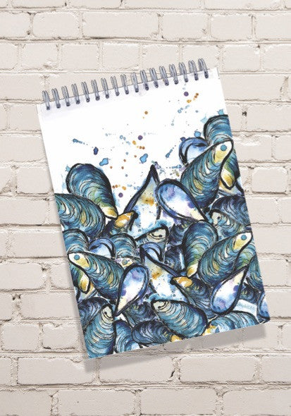 Mussels Notepad