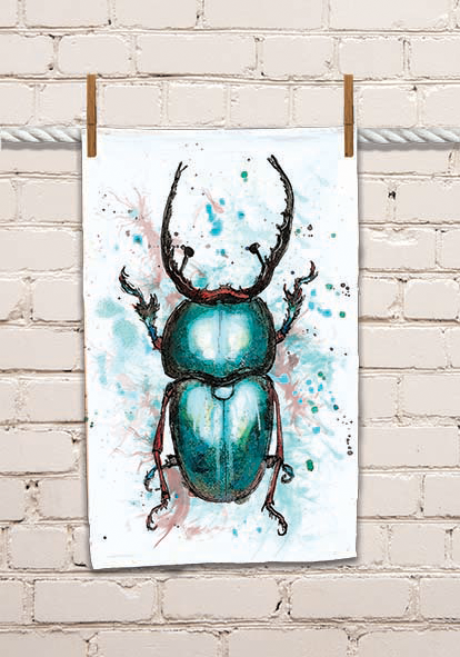 Bug 1 Tea Towel