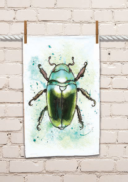 Bug 2 Tea Towel