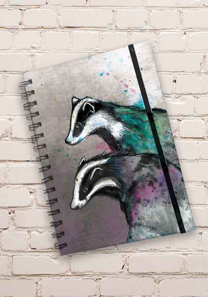 A5 Badger Hardback Spiral Bound Notebook