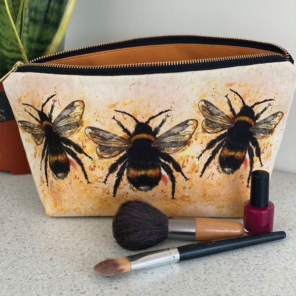 Bee Cosmetic Bag