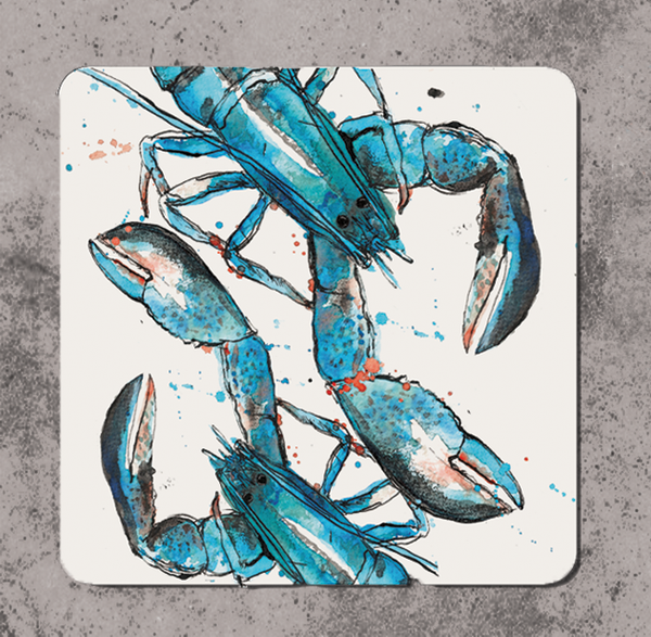 Blue Lobster Coaster