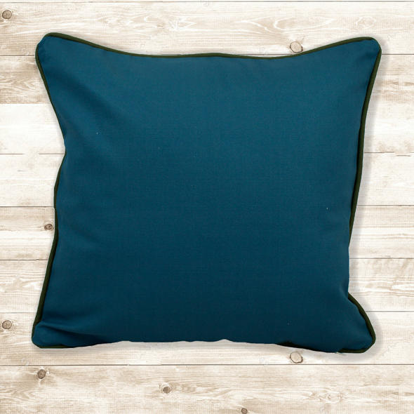 Blue Butterfly Cushion Cover