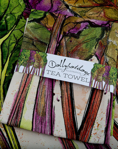 Chard Tea Towel