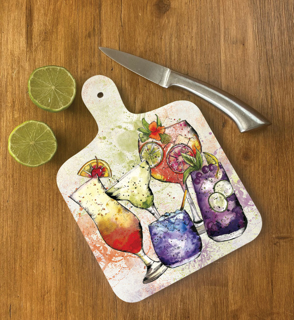 Small Cocktail Chopping Board