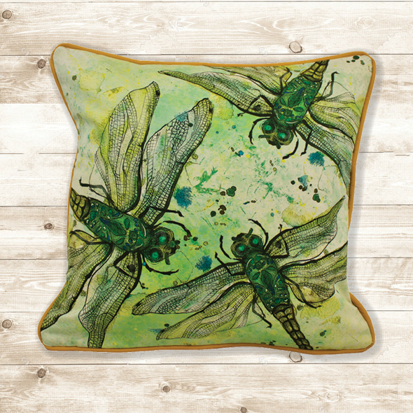 Dragonfly Cushion Cover