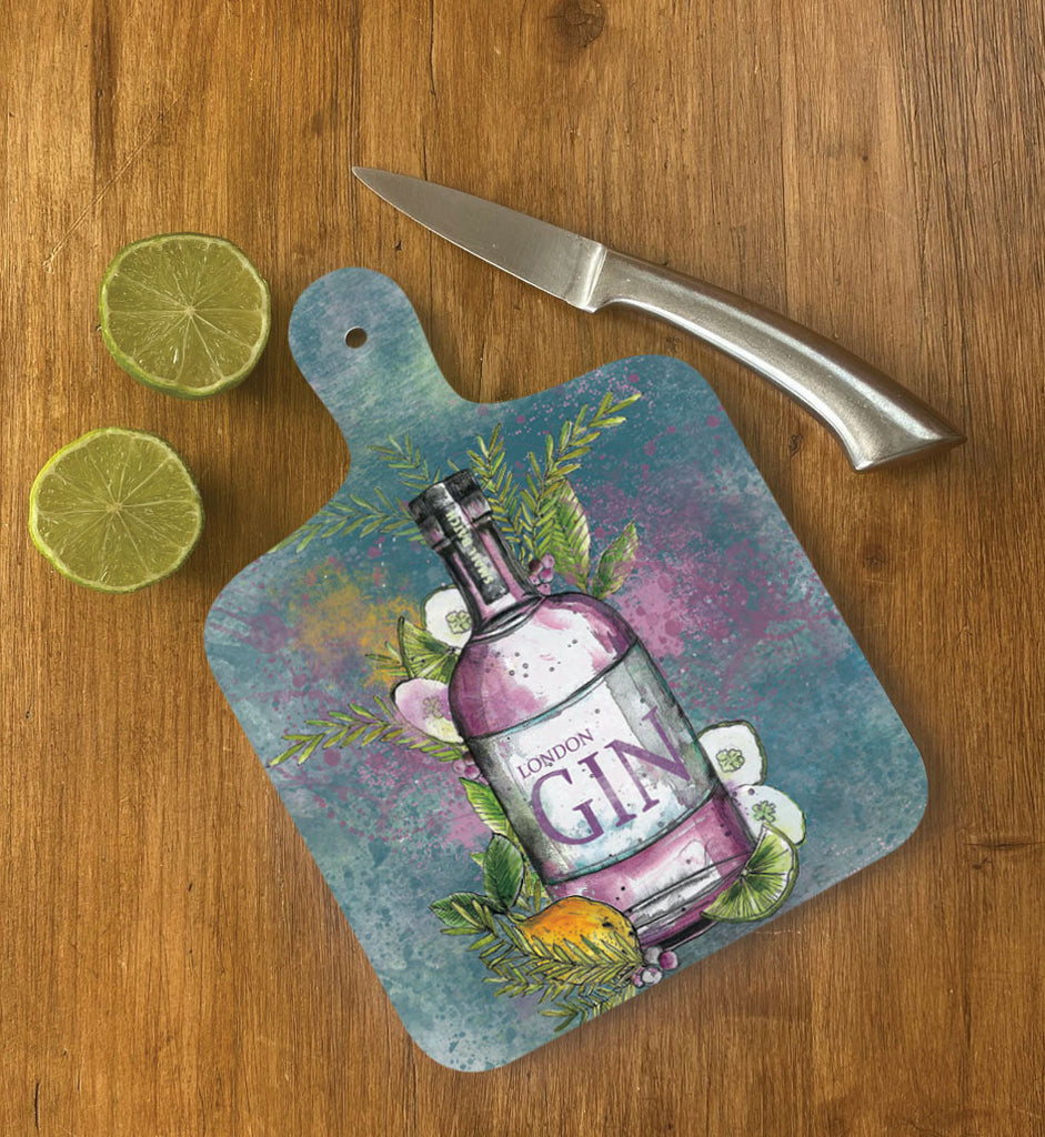Small London Gin Chopping Board