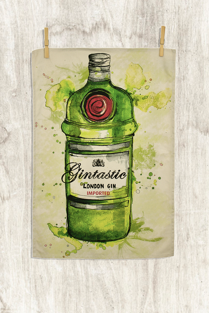 Gintastic Tea Towel