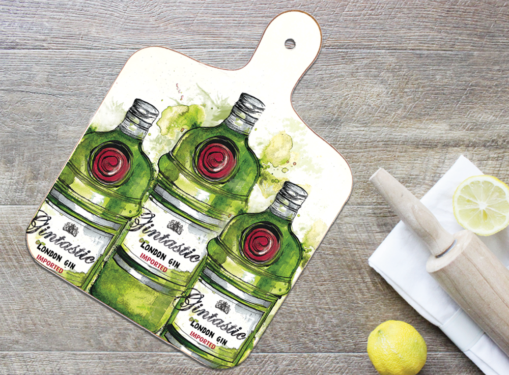 Small Gintastic Chopping Board