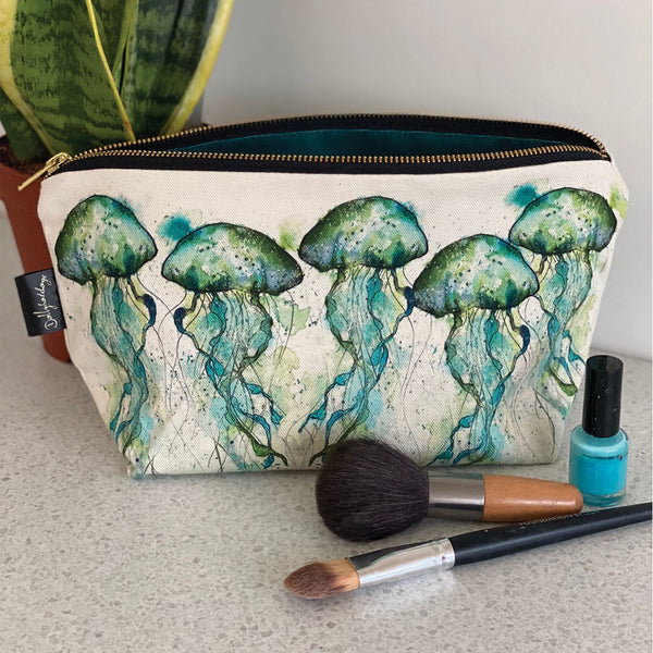 Jellyfish Cosmetic Bag