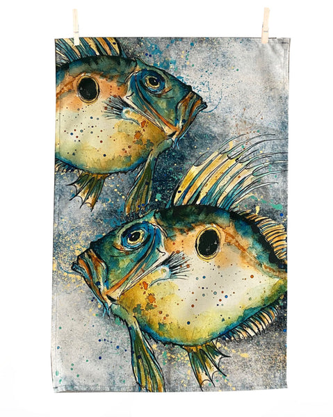 John Dory Tea Towel