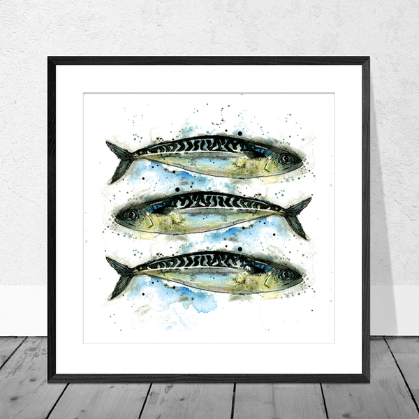 Mackerel Art Print