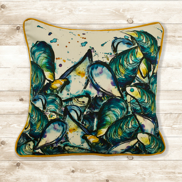 Mussels Cushion Cover
