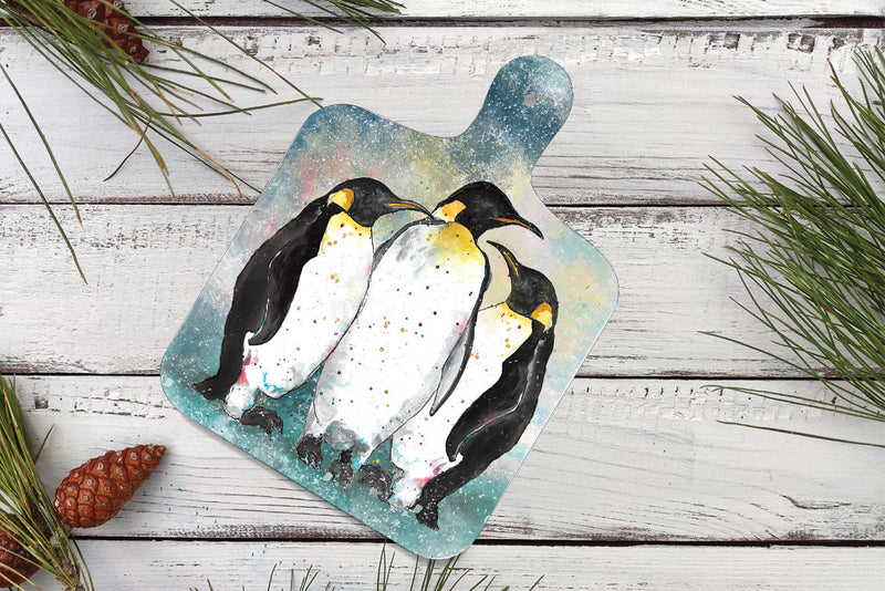 Small Penguin Chopping Board
