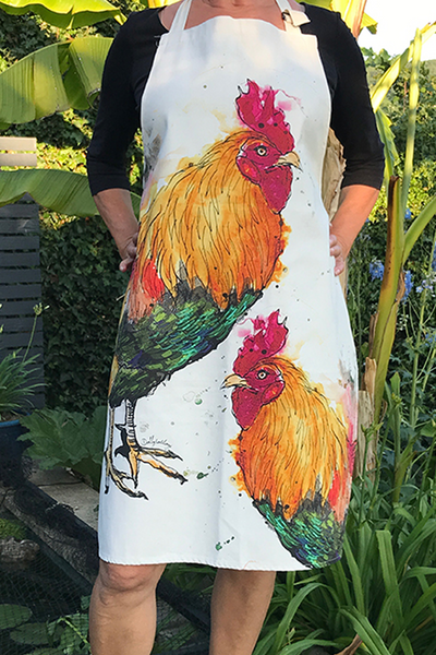 Cockerel Apron