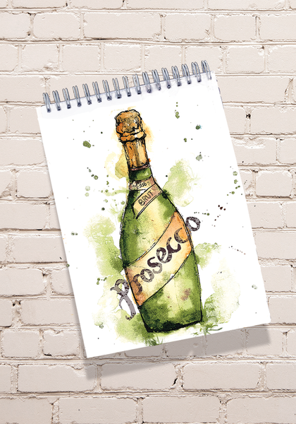 Prosecco Notepad
