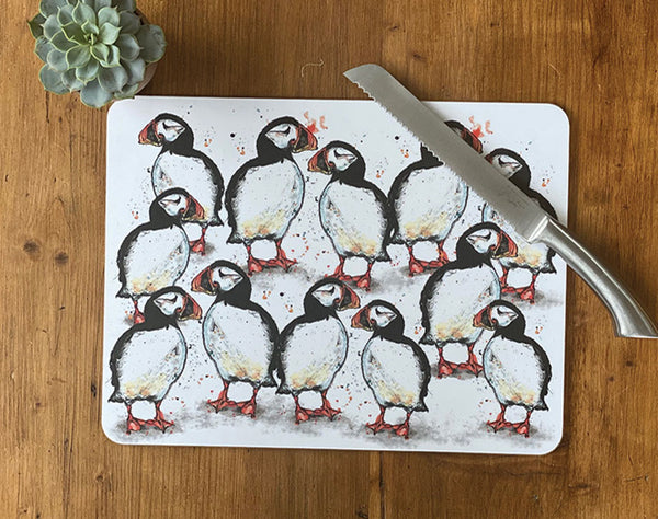 Large Puffin Centre Table Mat