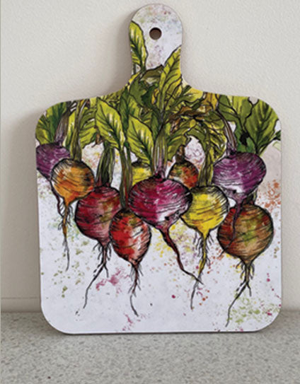 Small Radish Chopping Board