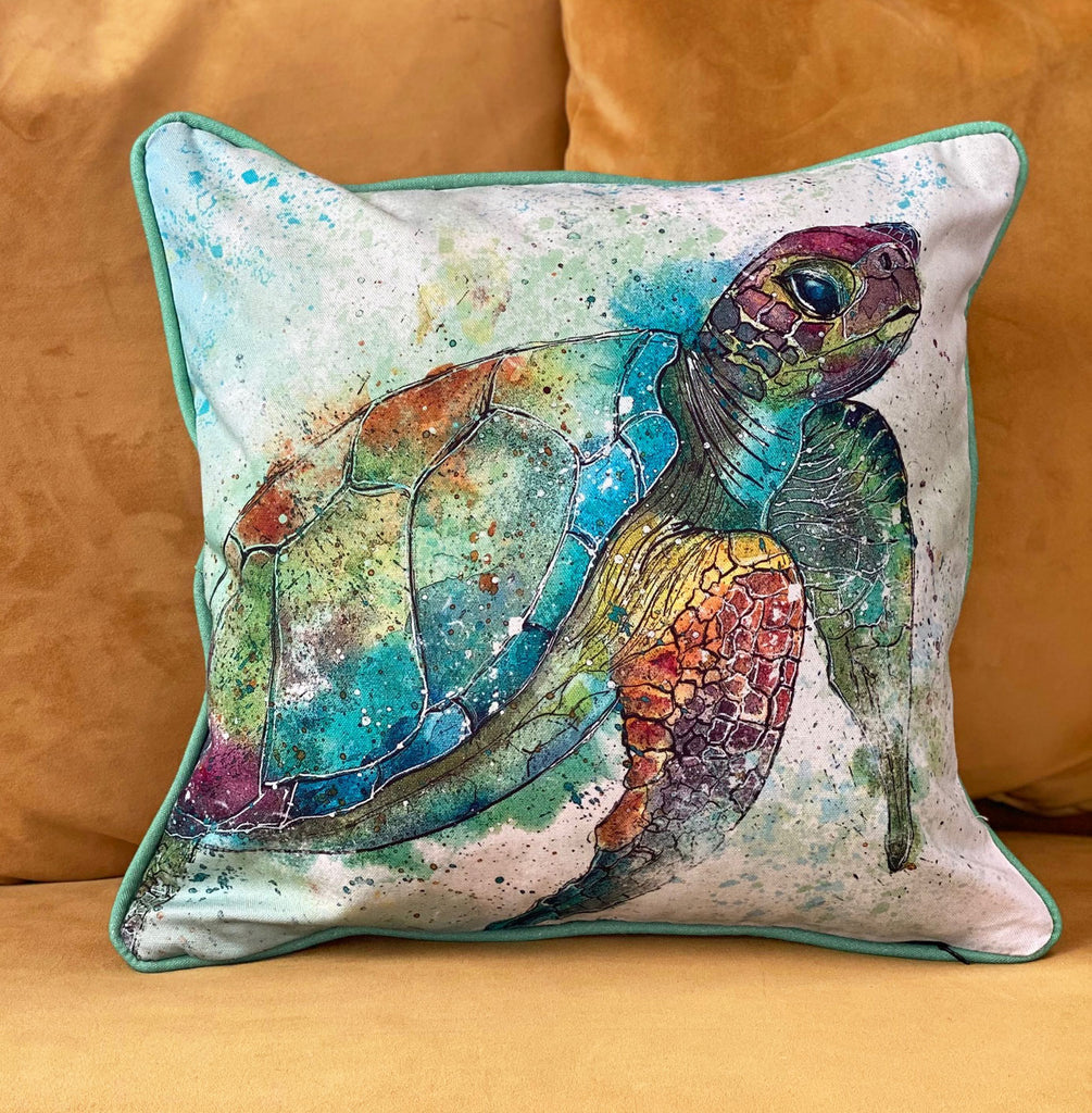 Turtle Cushion Cover