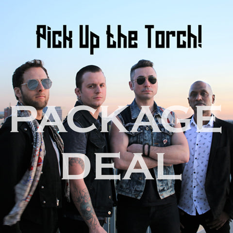 #PREORDER Deal #1: T-Shirt and Pick Up the Torch CD