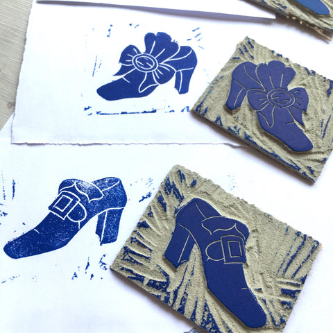 Lino Cut Shoes
