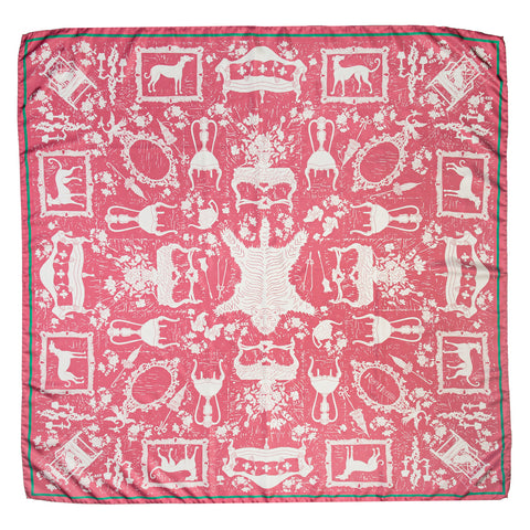 Pink Drawing Room Scarf