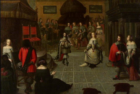 Charles II Dancing at the Hague
